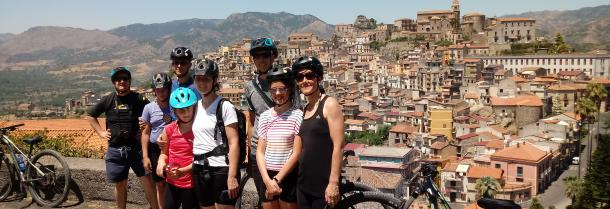 Mountain Bike tour in The Alcantara Valley