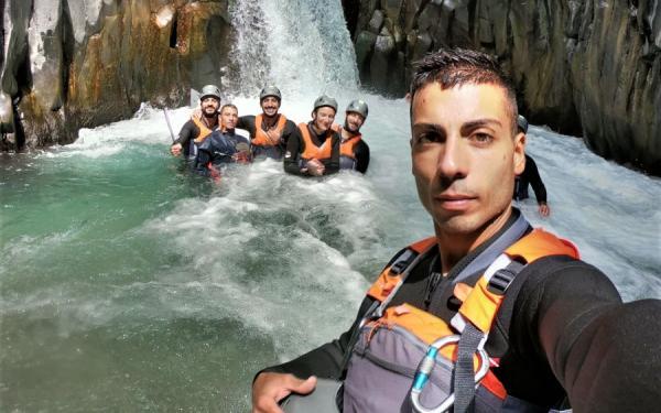 Gole Alcantara Body Rafting