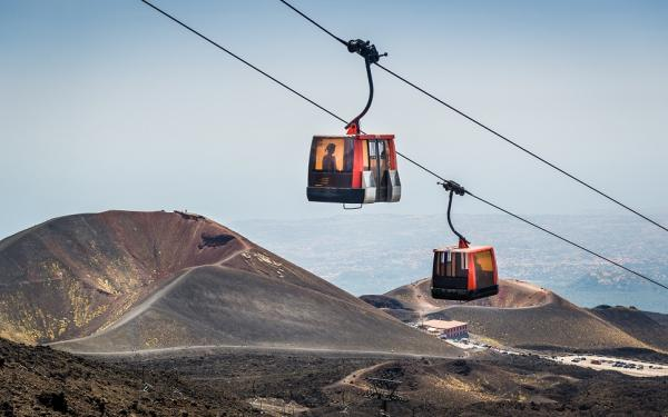 The Etna Cable Car