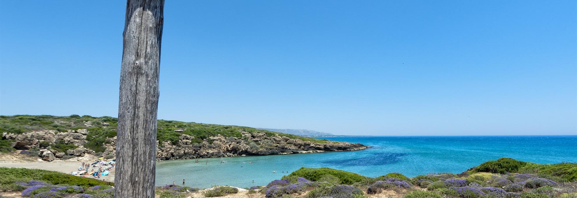 A sicilian beach.