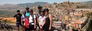 Mountain Bike tour in The Alcantara Valley