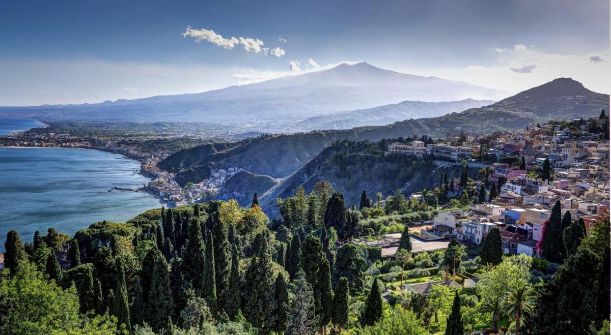 A view of Taormina.